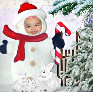 My little snowman